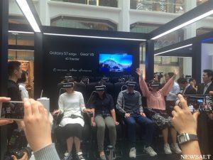 最新VRを体感! サムスンがイベントGalaxy Studio開催