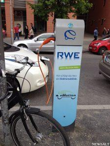 ドイツで電気自動車に購入支援政策