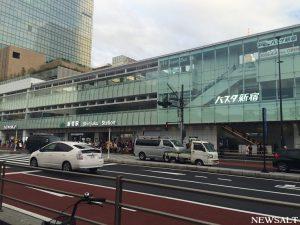 「バスタ新宿」開業1カ月 1日2万人利用、渋滞もゼロに