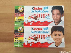 キンダーショコラーデ騒動 ドイツ代表子供時代の写真をめぐり人種差別