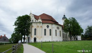 ユネスコ世界遺産のヴィース教会を訪ねる(ドイツ)