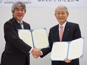 理研と京大、研究・人材育成で包括的連携協定