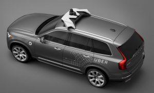 ボルボとウーバーが自動運転車を共同開発