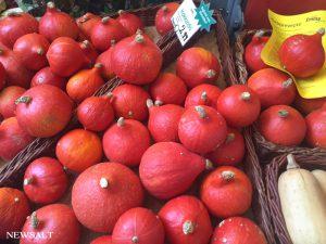 ドイツのマーケットで感じる秋の訪れ