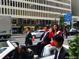 薬物乱用防止大パレード、東京銀座、丸の内エリアで開催