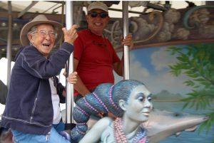 90歳で末期がん診断 全米を旅した「ミス・ノーマ」