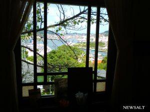 カフェめぐり 港を眺めながらダッチコーヒーを グラバー園の自由亭