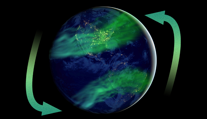 コンパスはやはり北を向く〜地球磁場の反転は近い将来はない