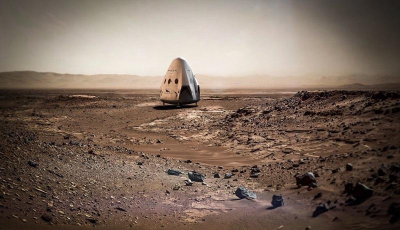 米民間宇宙開発ベンチャー 2018年にも火星に宇宙船着陸へ
