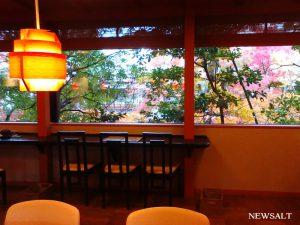 カフェめぐり 金沢 森八茶寮本店で晩秋を味わう