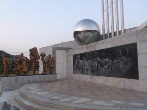 朝鮮戦争時の出来事を今に伝える~韓国、老斤里(ノグンリ)平和公園