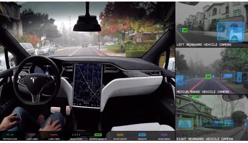 安全性「2倍以上」の完全自動運転車を販売開始 テスラ