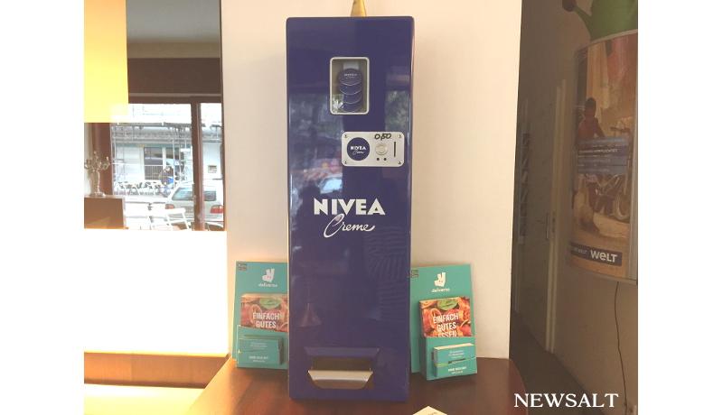 世界の自動販売機めぐり(2) ニベアの自動販売機(ドイツ)
