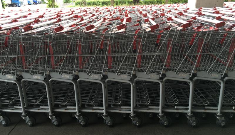 ウォルマート、自動運転ショッピングカートの特許を取得