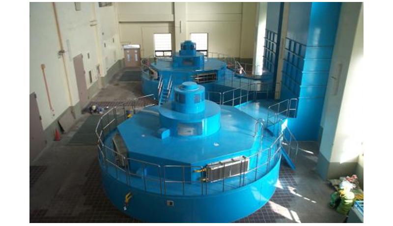 水力発電所の中身を見よう! 津久井で12年ぶり分解点検を公開