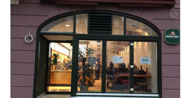 お家ごはん風食堂(3) ヴィーガンカフェのサラダバー(ドイツ、アウグスブルク)