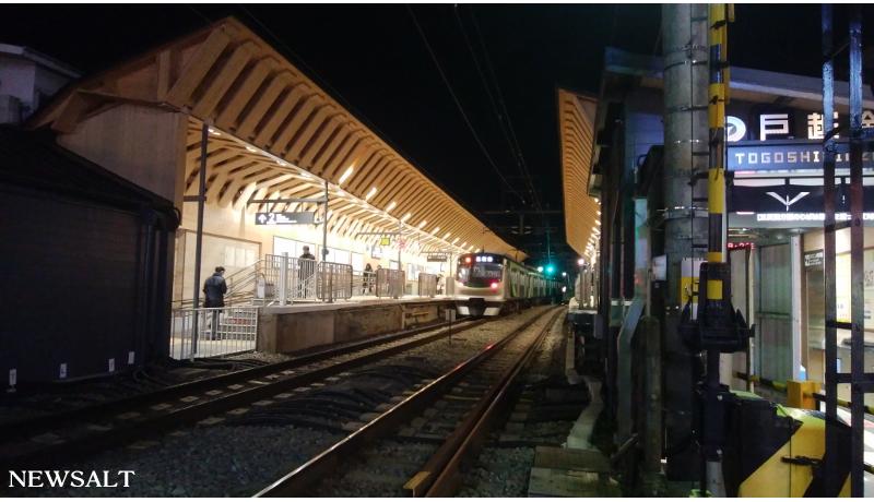 東急戸越銀座駅 木造駅舎が90年ぶりにリニューアル