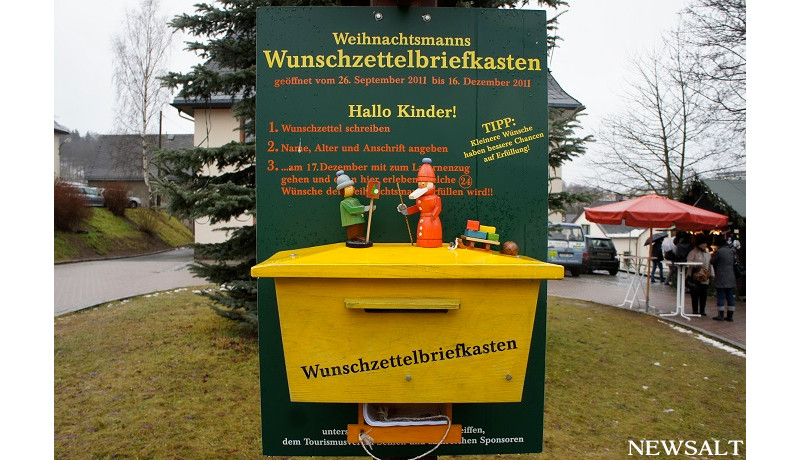 サンタクロースへの手紙、今年は56万通(ドイツ)