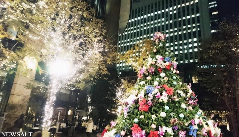 2016年クリスマスの風景~東京・丸の内
