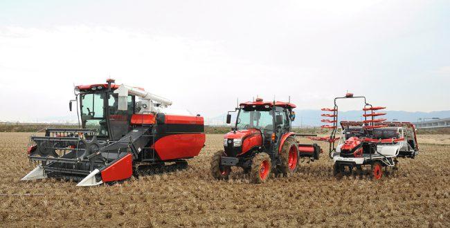 クボタ、自動運転農機を発表 農業従事者の高齢化に向けて