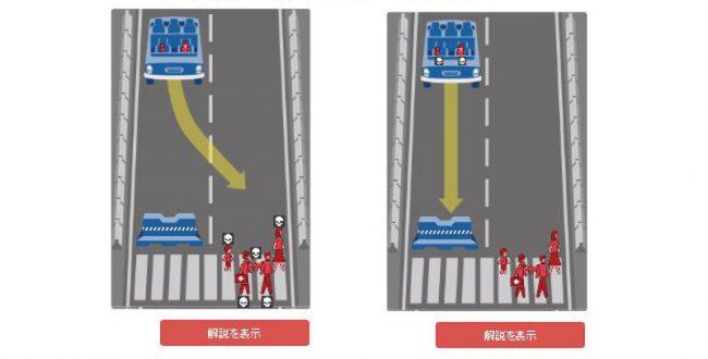 自動運転車は誰の命を救うべきなのか? MITが意見収集を実施