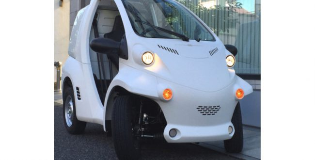 ZMPが実験用自動運転EVを発売開始