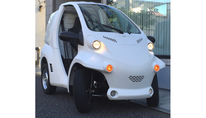 研究機関向け、実験用自動運転EVを発売開始 ZMP