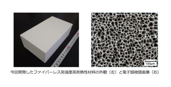 産総研、1450度に耐える新断熱材を開発 消費電力約4割削減