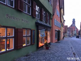 ドイツ・ロマンチック街道で寄り道(2) ディンケルスビュール