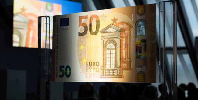 新50ユーロ札が発行 ニセ札防止対策万全に