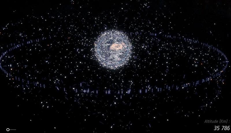 衛星脅かす宇宙ごみ問題 第7回欧州宇宙ごみ会議で議論