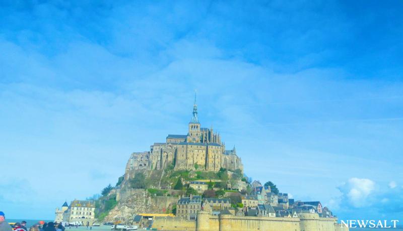 世界遺産を訪れる フランス モン・サン・ミッシェル