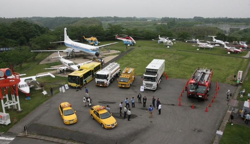 航空科学博物館で「集まれ!NARITA空港車輌」展、開催