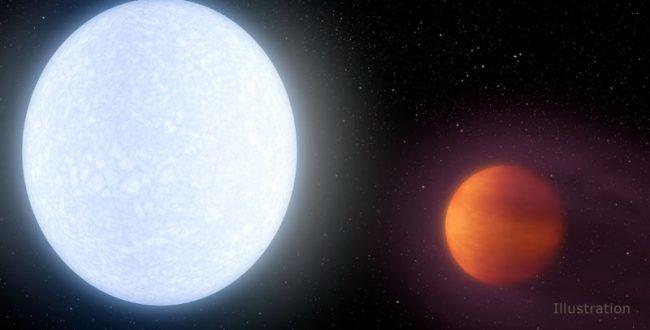 多くの恒星よりも熱い惑星を発見