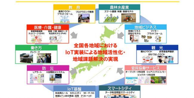 総務省「地域IoT官民ネット」設立、地方におけるIoT実装を促進