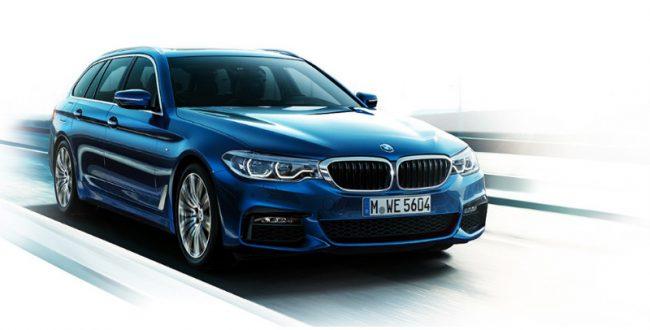 BMW、新発売の「5シリーズ ツーリング」の自動運転機能を強化