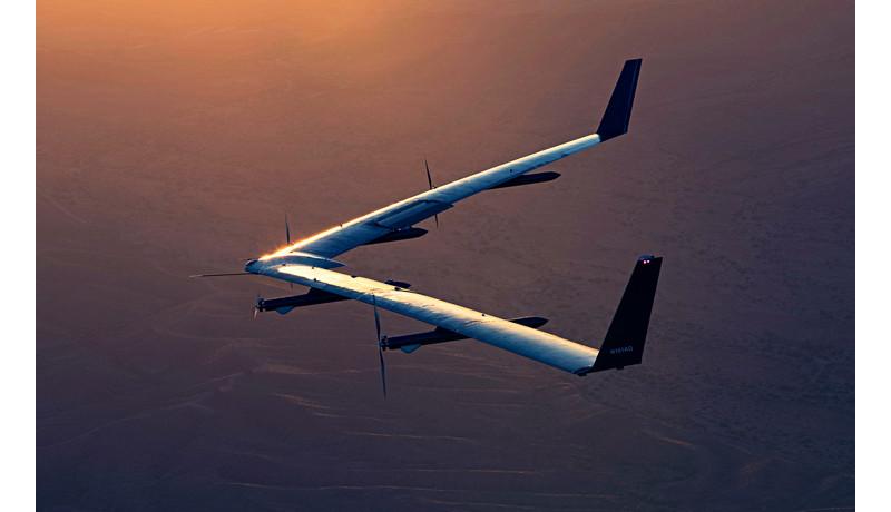 Facebook、太陽光エネルギー飛行機が2回目のテスト飛行に成功