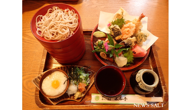 ご当地自慢を探せ!(20)岡山県・水仙亭の「ぼっこう蕎麦」