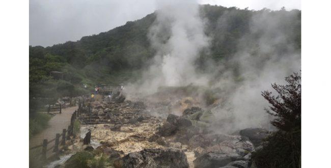 長崎県島原半島を訪れる 雲仙地獄・島原城