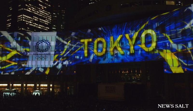 東京五輪・パラまであと3年 旗で全国つなぐ