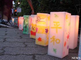 平和を願い多くの人が広島訪問 72年目の原爆記念日