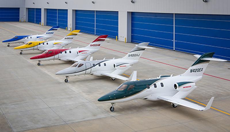 ホンダジェット、2017年上半期の小型ジェット機分野で出荷数世界一を達成