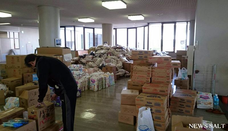 被災地に物資・サービスを 民間23者が連携