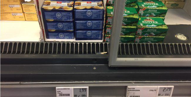 ドイツを襲うバター・インフレ「7つの理由」とは?