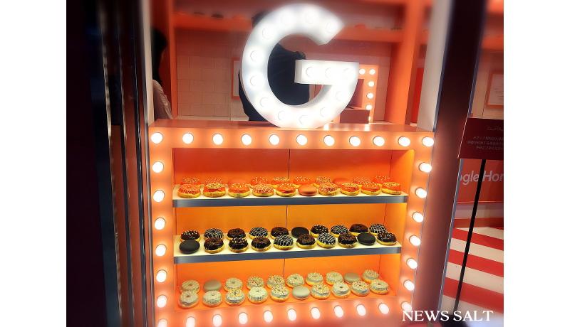 グーグルが表参道で「Google Home Miniドーナツショップ」オープン