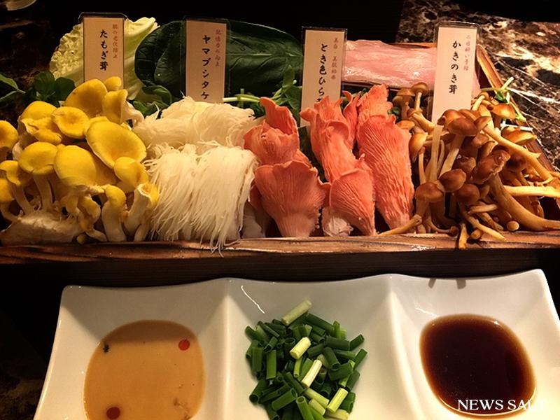 【都内のお勧めランチシリーズ】六本木 Shangri‐La's Secretで食す、秋の味覚きのこしゃぶしゃぶ