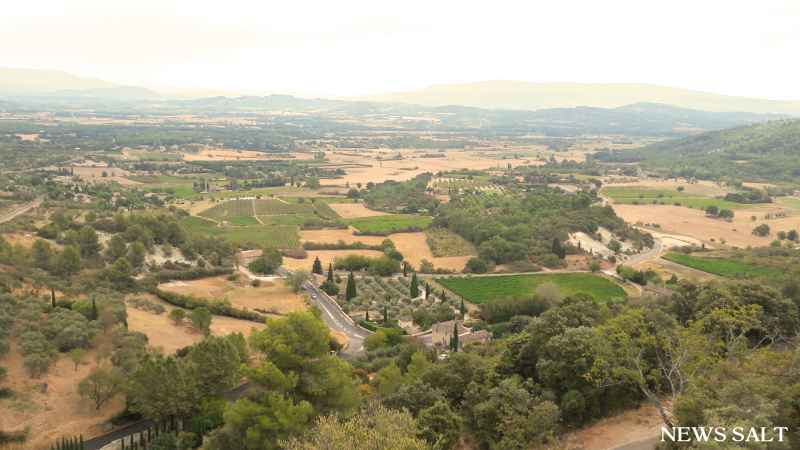 フランスの「最も美しい村」 (3)美しい村の宝庫プロヴァンス――リュベロン地区とゴルド村