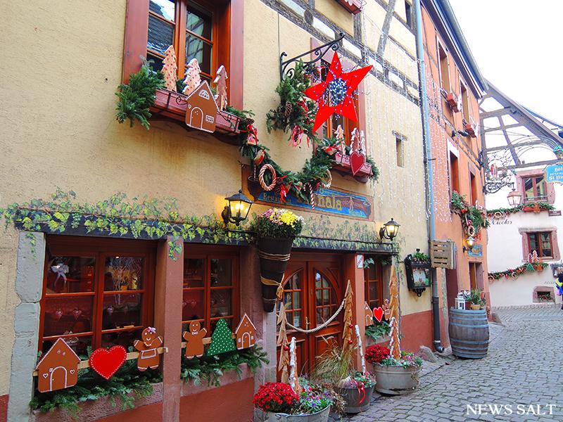 欧州クリスマスマーケット便り(5)フランス・リクヴィール