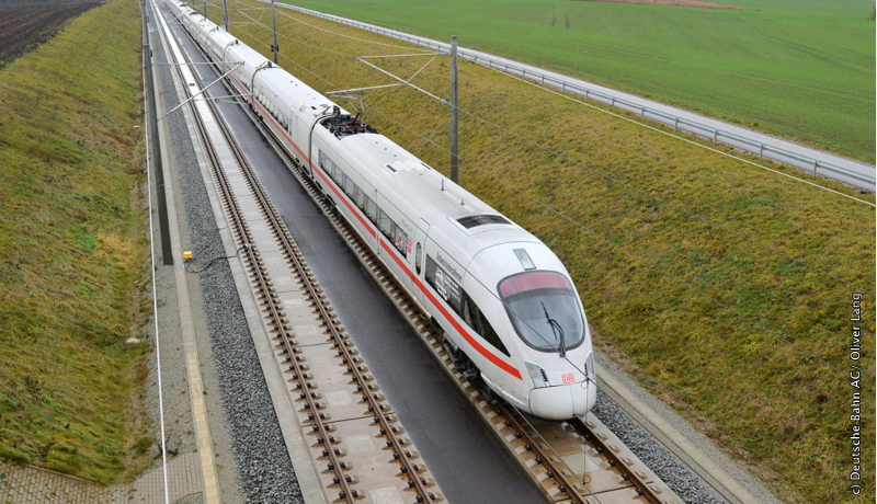 ベルリン~ミュンヘン間600キロを4時間以内で ドイツ鉄道新路線が開通