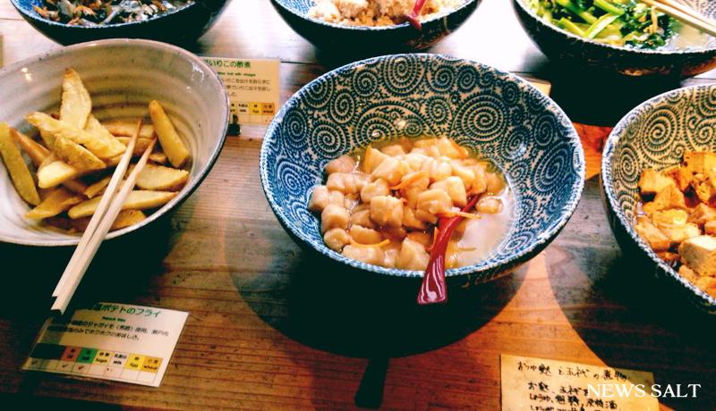 京都おばんざいの魅力を楽しむ自然食ビュッフェ「松富や壽」
